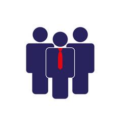 leader icon simple vector image