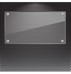 Metal Grill vector image