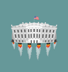 Whitehouse rocket turbine vector image