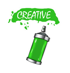 paint cans with paint vector image