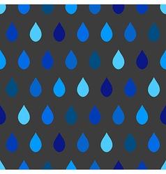 Blue Tone Rain Gray Background vector image vector image