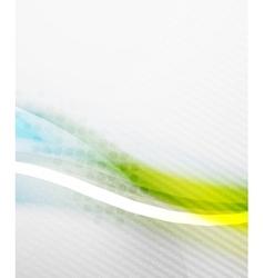 Blue business tech blur design vector