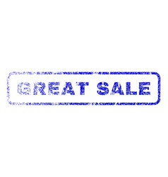 Great sale rubber stamp vector