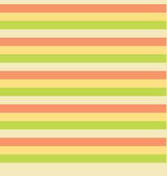 horizontal stripes yellow green peach tile vector image
