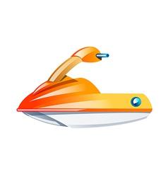 Icon jet ski vector