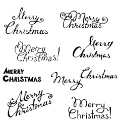 Merry Christmas In Cursive.Cursive Christmas Font Vector Images Over 200