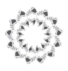 Rustic emblem abstract design vector