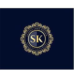 Letter Sk Logo Vector Images Over 1 400