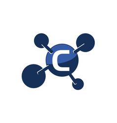 Synergy logo initial c vector