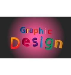 graphic design vector image