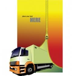 transport background vector image vector image
