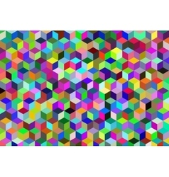Abstract cube backgrounds vector image vector image