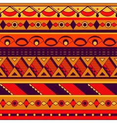 Seamless ethnic background vector image vector image