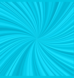 Abstract cyan spiral rays background vector