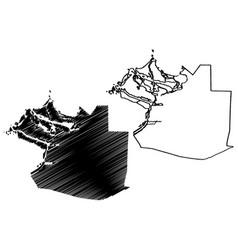 Abu dhabi city united arab emirates uae emirate vector