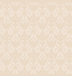 baroque style damask seamless pattern vector image