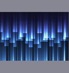 Blue speed bar overlap in dark background vector