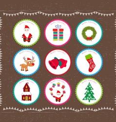 Christmas printables vector