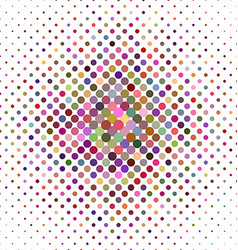 Colorful abstract dot pattern background vector