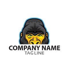Gorilla Logo vector image