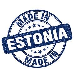 made in Estonia vector image