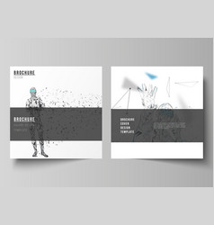 minimal of editable layout of vector image
