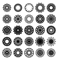 Round Symbols Set vector