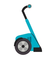 segway transport icon vector image