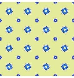 Stars geometric seamless pattern 4506 vector image