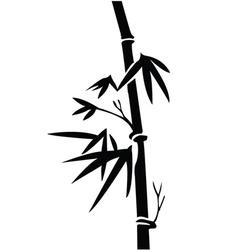 Bamboo design vector