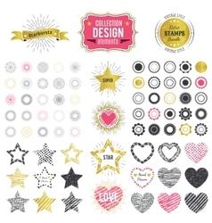 collection premium design elements vector image