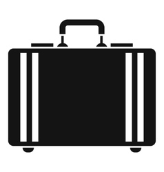Diplomat icon simple style vector