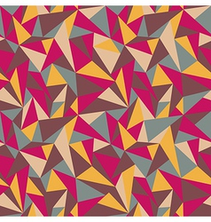 geometric colorful pattern vector image