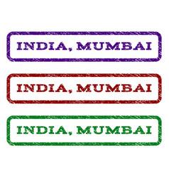 India mumbai watermark stamp vector