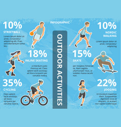 infographics with people vector image vector image