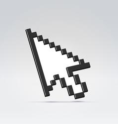 Pointer cursor arrow vector