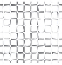 Seamless geometric pattern with curved squares vector