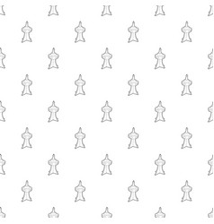television tower pattern seamless vector image