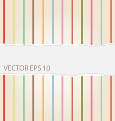 Vintage Torn Paper Background vector