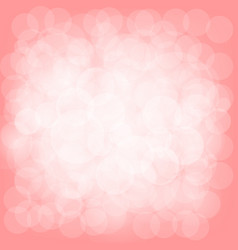 pastel bokeh abstract background vector image