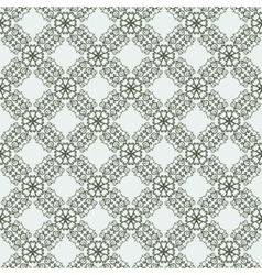 East seamless two-tone pattern with curls vector image vector image