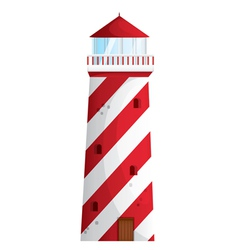 a light house vector image vector image