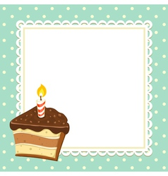 Piece of Cake vector image