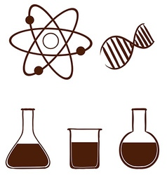 A simple science experiment vector image