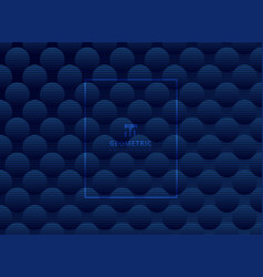 Abstract dark blue circles pattern subtle vector