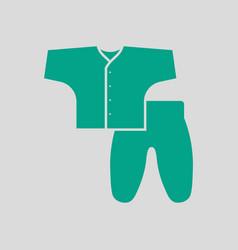 Bawear icon vector