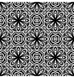 Flower Pattern Intricate Luxury Damask vector image