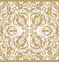 luxury ornamental vintage premium background vector image