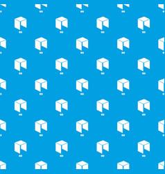 Neo pattern seamless blue vector