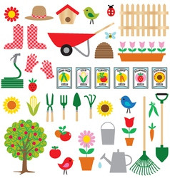 gardening clipart vector image vector image